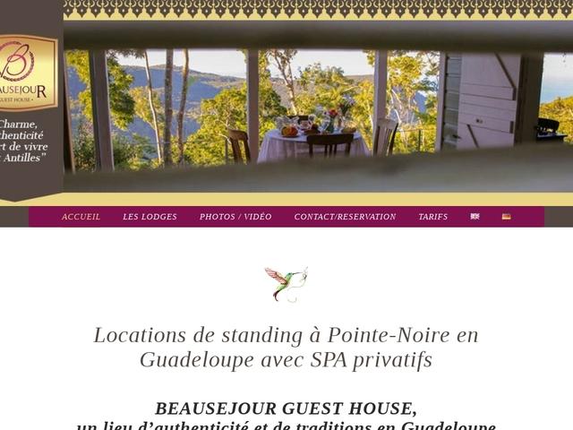 Beauséjour Guest House (Pointe-Noire -Guadeloupe)