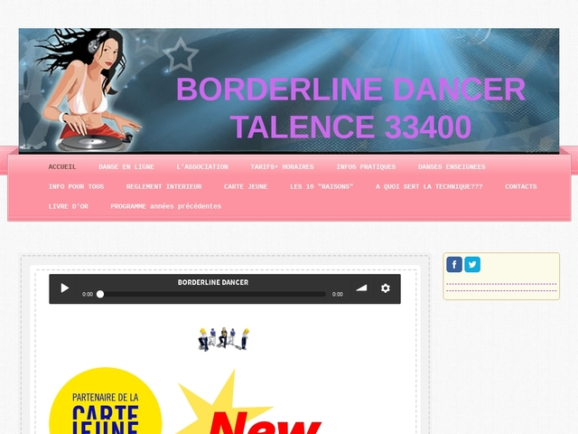 BORDERLINE DANCER