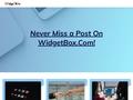 Make custom mobile apps, web widgets, and rich media ads  Widgetbox