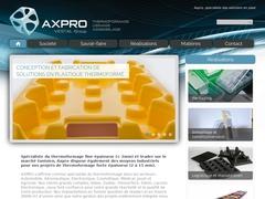 Axpro Thermo - Le spécialiste de thermoformage