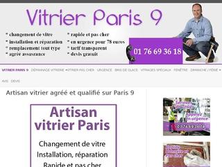 Professionnel vitrier Paris 9 efficace