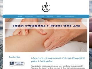 Cabinet d'ostéopathie à Poitiers Grand Large