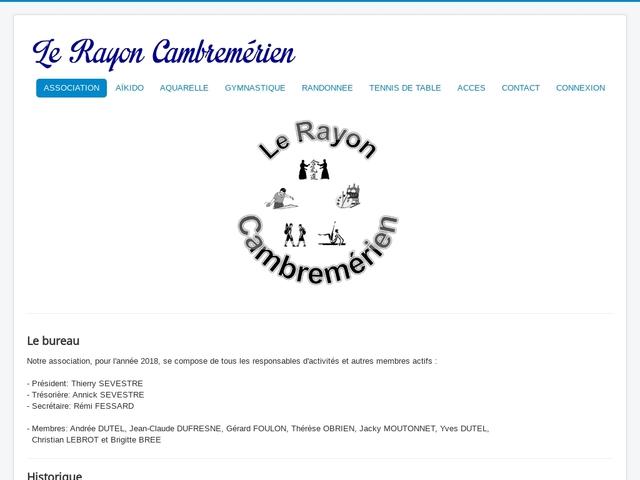 AIKIDO RAYON CAMBREMERIEN