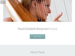 Paula Elizabeth Bressman | Harpist