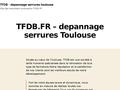 Toutes fermetures du batiment 31 Toulouse
