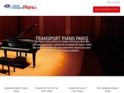 transport piano paris