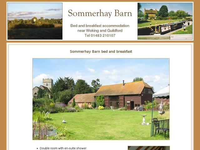 Sommerhay Barn - Woking Surrey.