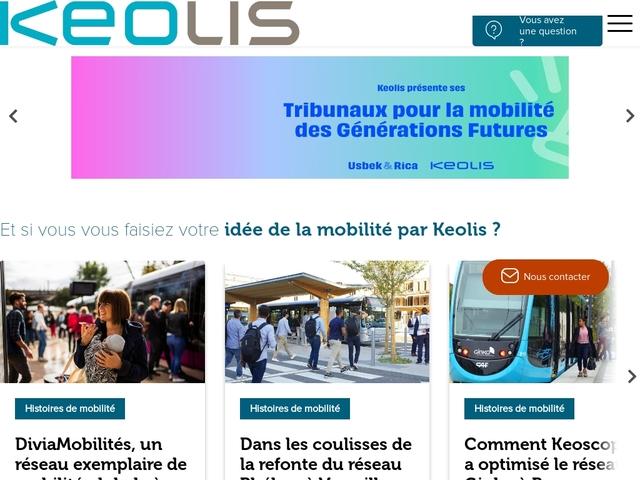 Keolis: Developing public transport soluti..