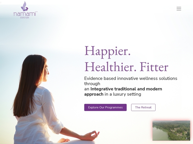 Namami health and wellness retreat
