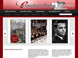 Ebook en poche : éditeur de livres numériques