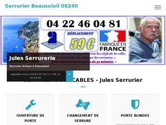 Serrurier Beausoleil 06240
