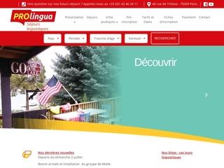 Séjour linguistique, cours particulier anglais, stage