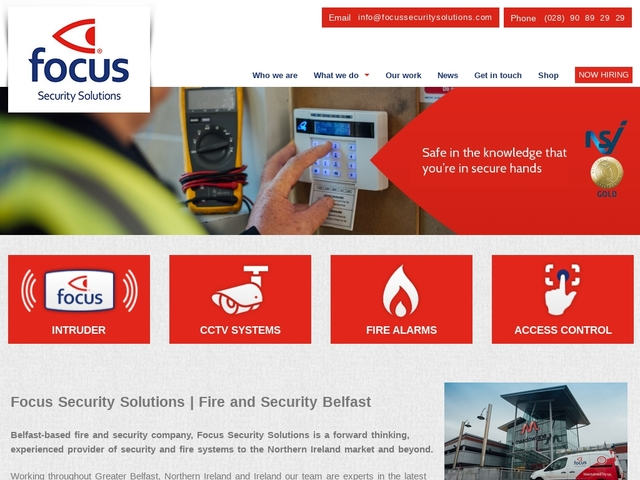 Fire and Security Belfast - Fire Alarm Servicing Specialists