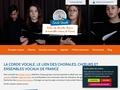 La corde vocale   Recherche de chorales en France