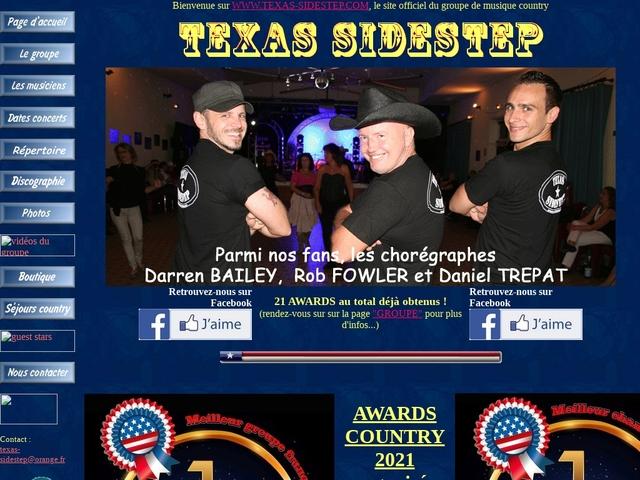 WWW.TEXAS-SIDESTEP.COM, tout sur le groupe de country music