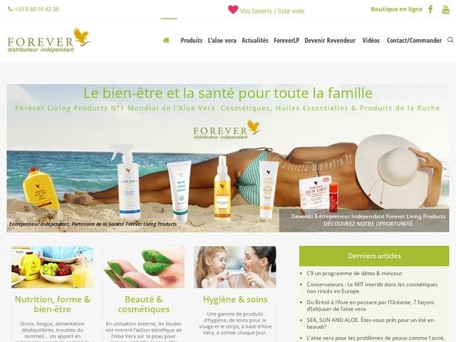 Aloe Vera Bien-être et santé Forever Living Products