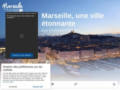 Office de Tourisme et des Congrès de Marseille, site officiel