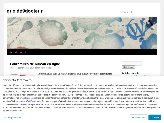quoide9docteur | What else ;-)