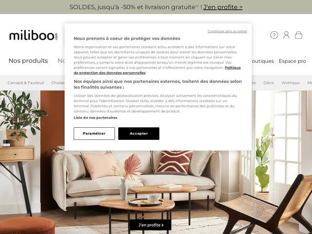 Meuble design et mobilier pas cher - Miliboo