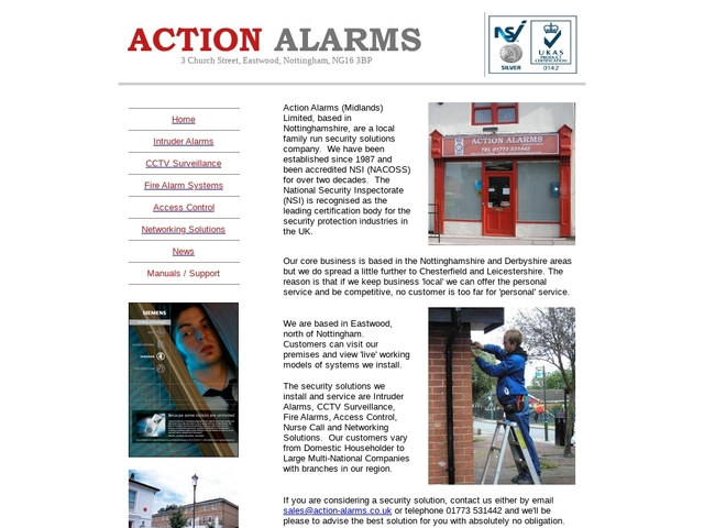 Action Alarms (Midlands) Ltd.