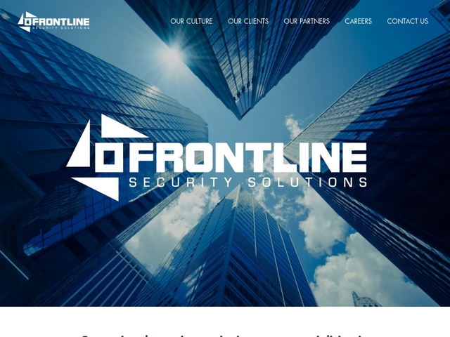 Frontline Security Solutions Ltd
