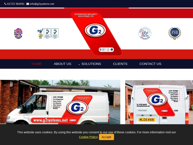 G2 Integrated Security Solutions.