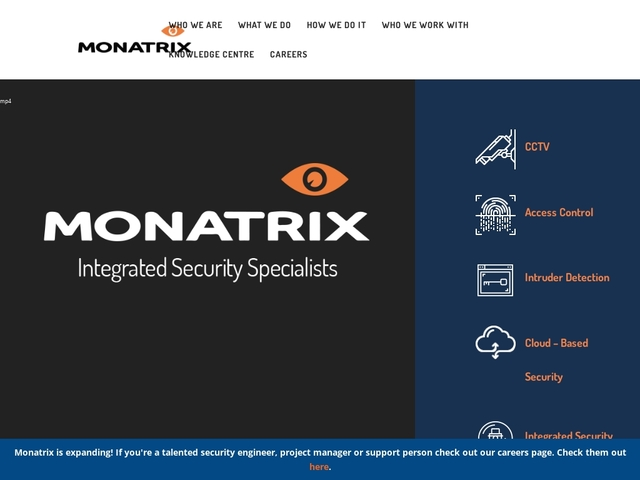 Monatrix Home and Commercial Security Systems