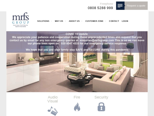 MRFS | Smart, Safe And Secure Solutions