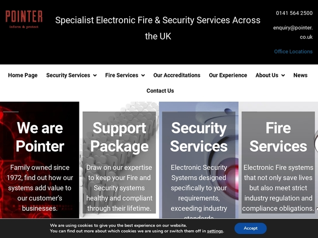 Pointer – Specialist Security Solutions Providers