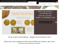 Olivier Goujon : boutique numismatique