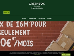 Location de Box Briec - Greenbox - Mannuaire.net