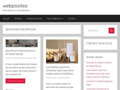 Webpositeo : plateforme de publication d'articles