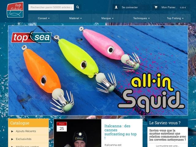 Top Fishing : Conseil, matériel, et technique de pêche