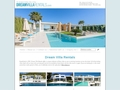 Luxury villa holidays