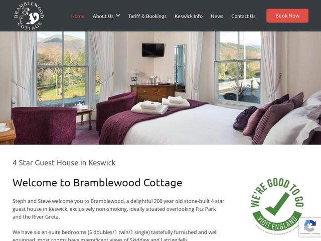 Bramblewood Cottage - Keswick - Cumbria - England.