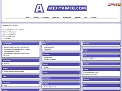 Aquitaine sur le web : Aquitaweb
