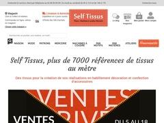 Tissu au mètre en vente en ligne avec Selftissus