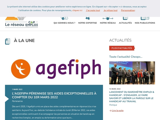Cheops - Le site national