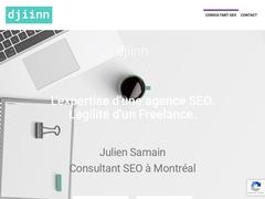 djiinn - Consultant SEO à Montréal