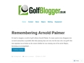 Golfblogger UK-Golf Championship and Tournament Golf News