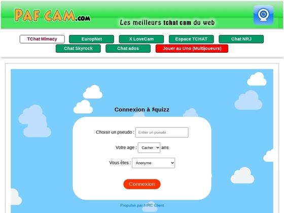 Pafcam .com est un service de plusieurs tchats et multi-cams.