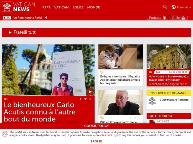 NEWS.VA The Vatican today