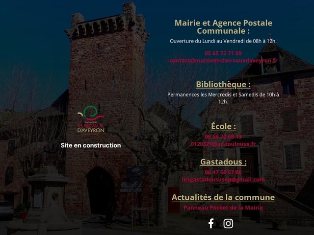 Clairvaux d'Aveyron - Bruejouls - Panat -