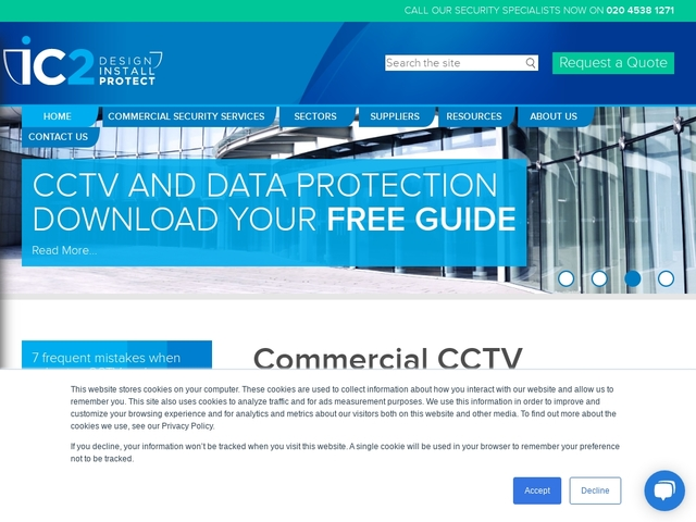 iC2 - CCTV Installation and Electronic Security London