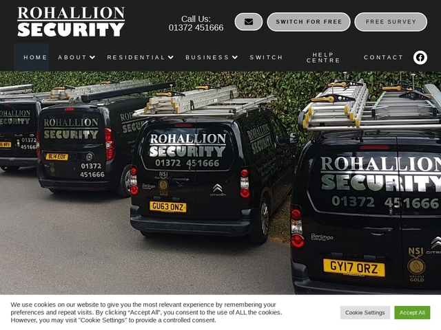 Rohallion Security | For ALL your security needs