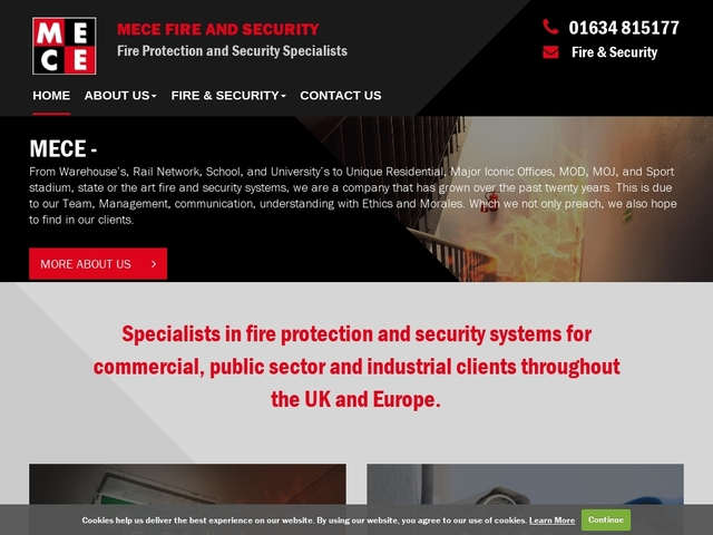 MECE Fire and Security in Kent UK