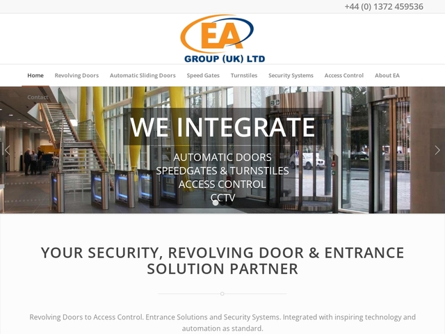 EA Group (UK) Ltd - Security and Access Control Systems