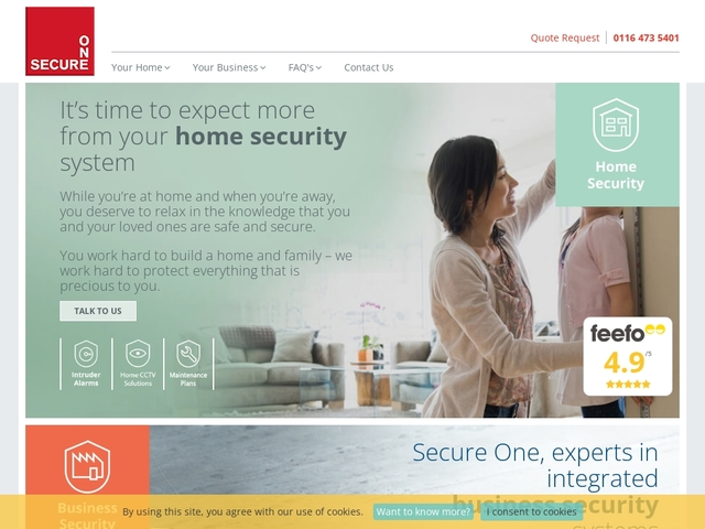 Security systems for peace of mind in Leicester