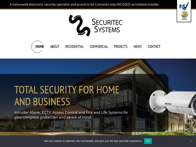 Securitec Systems, intruder alarms and CCTV systems