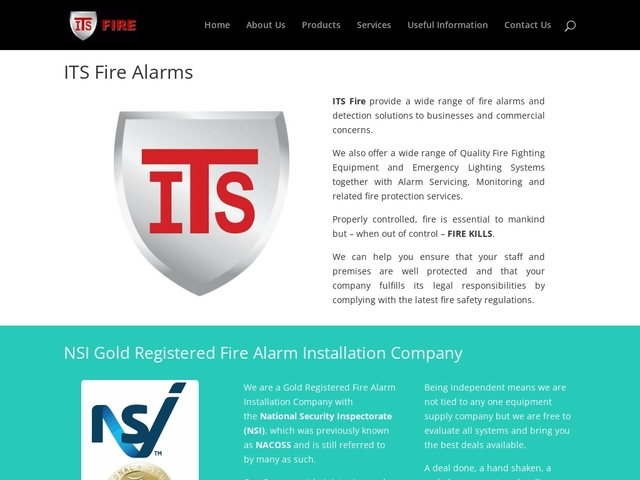 ITS Fire - Fire Alarms and protection specialists